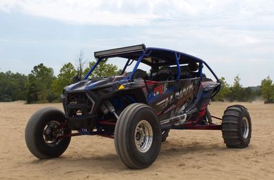 Hawk Engineering Inc. LS engine conversion for the Polaris RZR