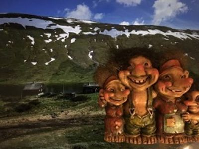 Trolls are popular characters in storytelling in Norway.