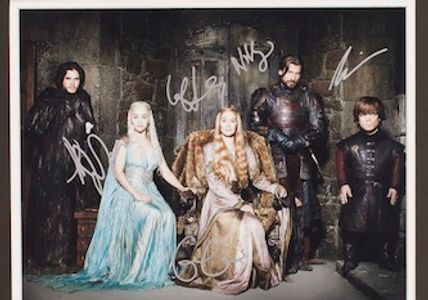 Game of Thrones Cast Autographed photo