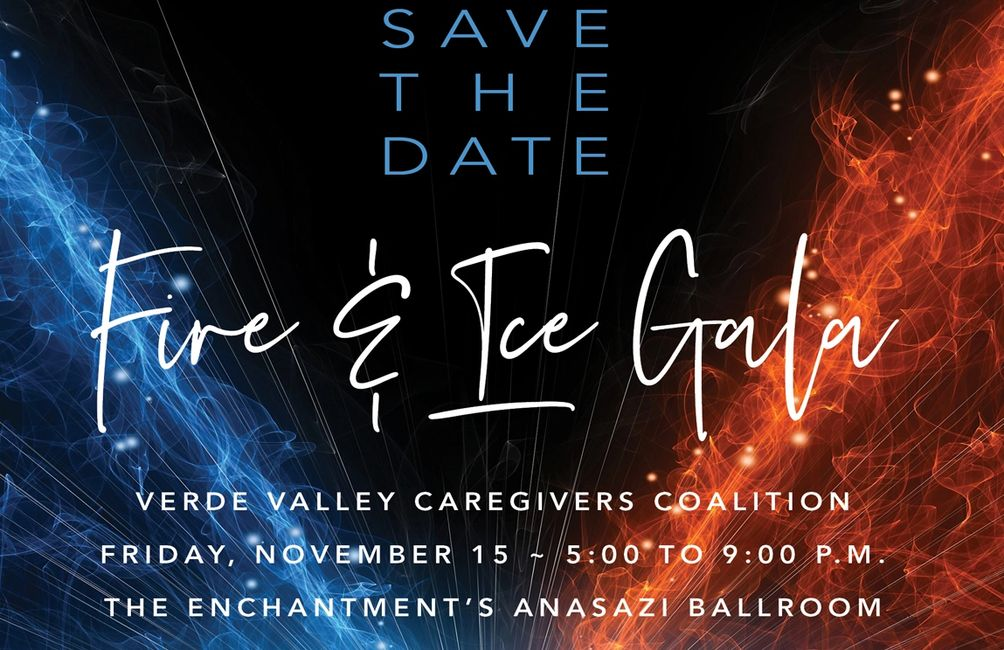 Fire and Ice - Verde Valley Caregivers Coalition 2019 Gala Nov 15, Enchantment's Anasazi Ballroom