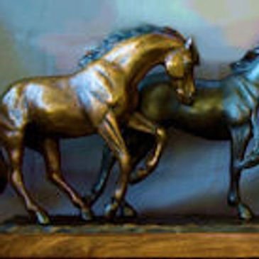 Gallery of Bronze Horse Statue. Sculptures of Horses by Kim Corpany small to larger than life size