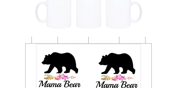 Mamma Bear on a Custom License plates