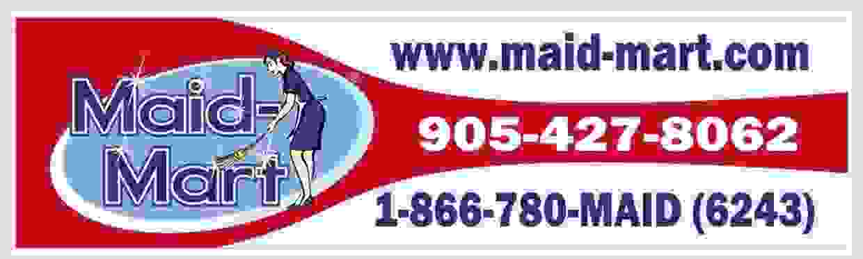 Maid Mart Residential and commercial cleaning services.