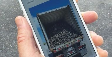 mobile image management scrap buying