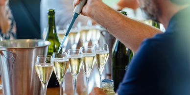 Wine tasting at home. Make your own sparkling wine