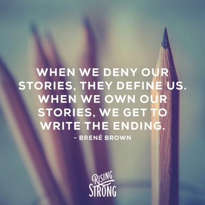 Photo of Brene Brown's quote