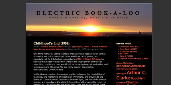 Electric Book-A-Loo is a blog I started in order to keep track of what I was reading.