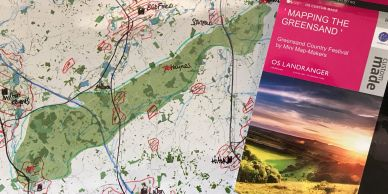 Greensand Country Map