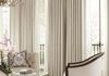 Upholstered Cornices with Classic Drapery Panels