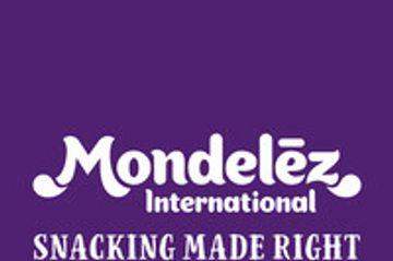 Mondelez International logo.