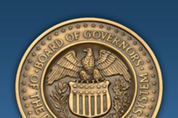 Federal Reserve Board logo.