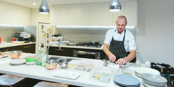 Chef Brett Gilbert owner operator and creator of Perth Chef Hire. Perth's most trusted caterer.