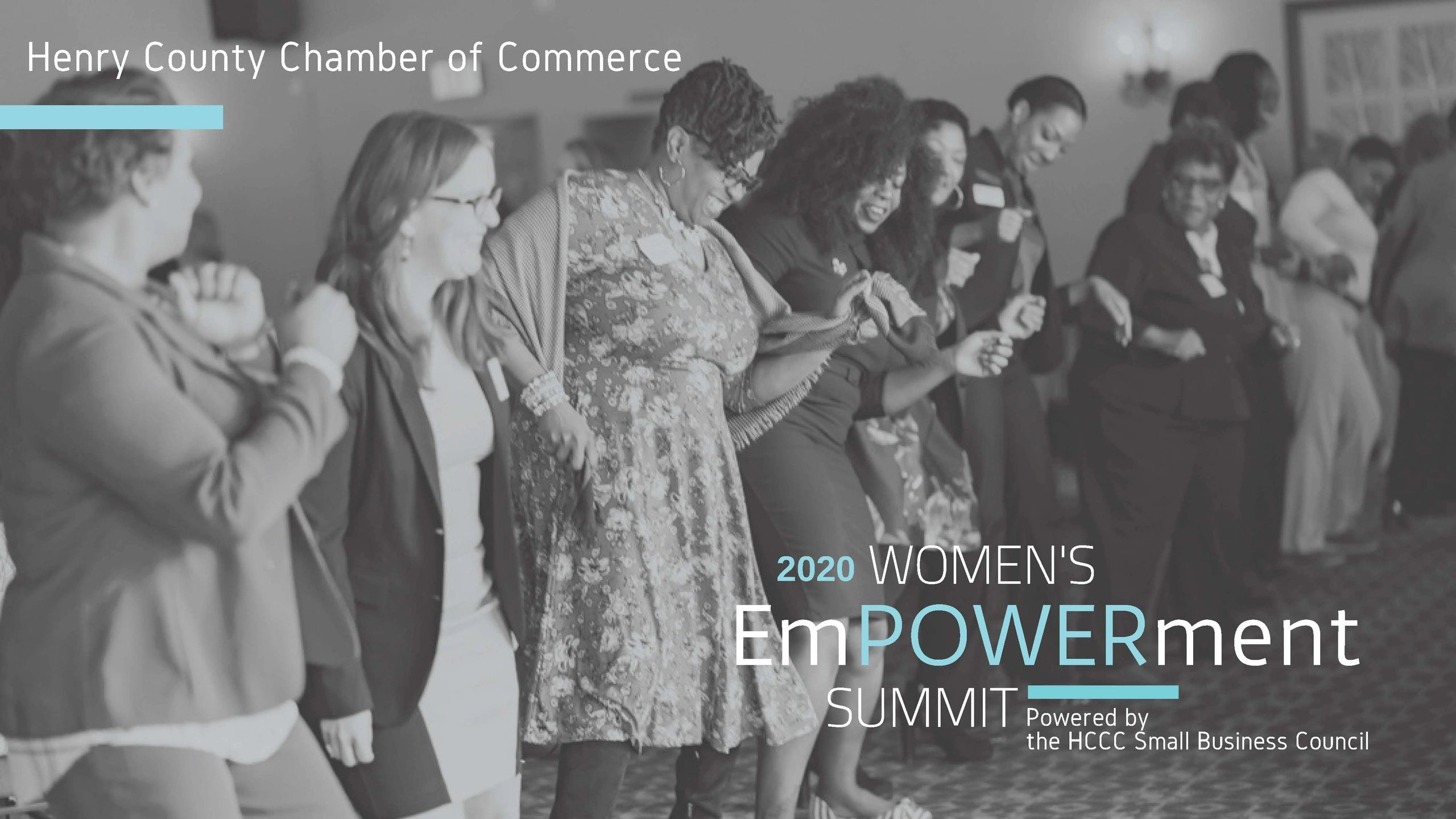 Women energized for the 2020 Women's EmPOWERment Summit.
