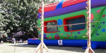Herts Vintage Garden Games Hire Limbo fete games wedding entertainment birthday celebration london