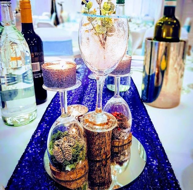 Hertfordshire creative event & wedding day styling Wherever possible we source sustainable materials