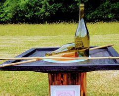 stand a bottle hire funfair games event hire event planning herts vintage  lawn games fete games