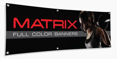 Custom made banners for all your indoor and outdoor needs.