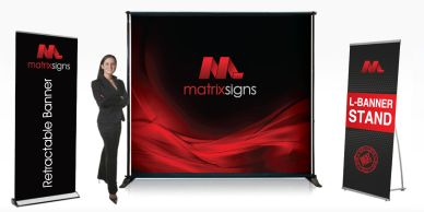 Make that first impression a good impression with high impact displays!