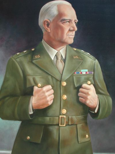 "2003 - Oil on Canvas  Major General William J, ""Wild Bill"" Donovan Commission for MacDill AFB in Tampa, Florida"