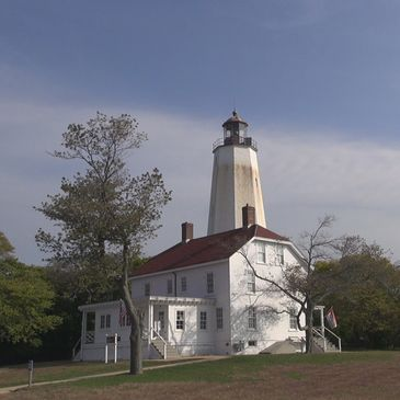 Sandy Hook Lighthouse is the oldest continuously operating lighthouse in the United States.