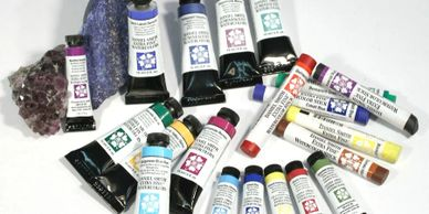 Daniel Smith 5ml Watercolours. Artist quality. Traditional colours, Prima Tek and Duo Colours.