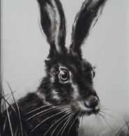 Original charcoal and pencil painting by Irish Artist, Sara Irvine. Available at Art & Home Art