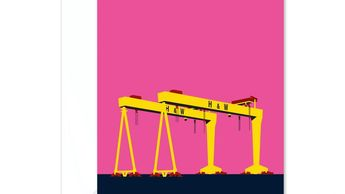 Harland and Wolff cranes, Belfast