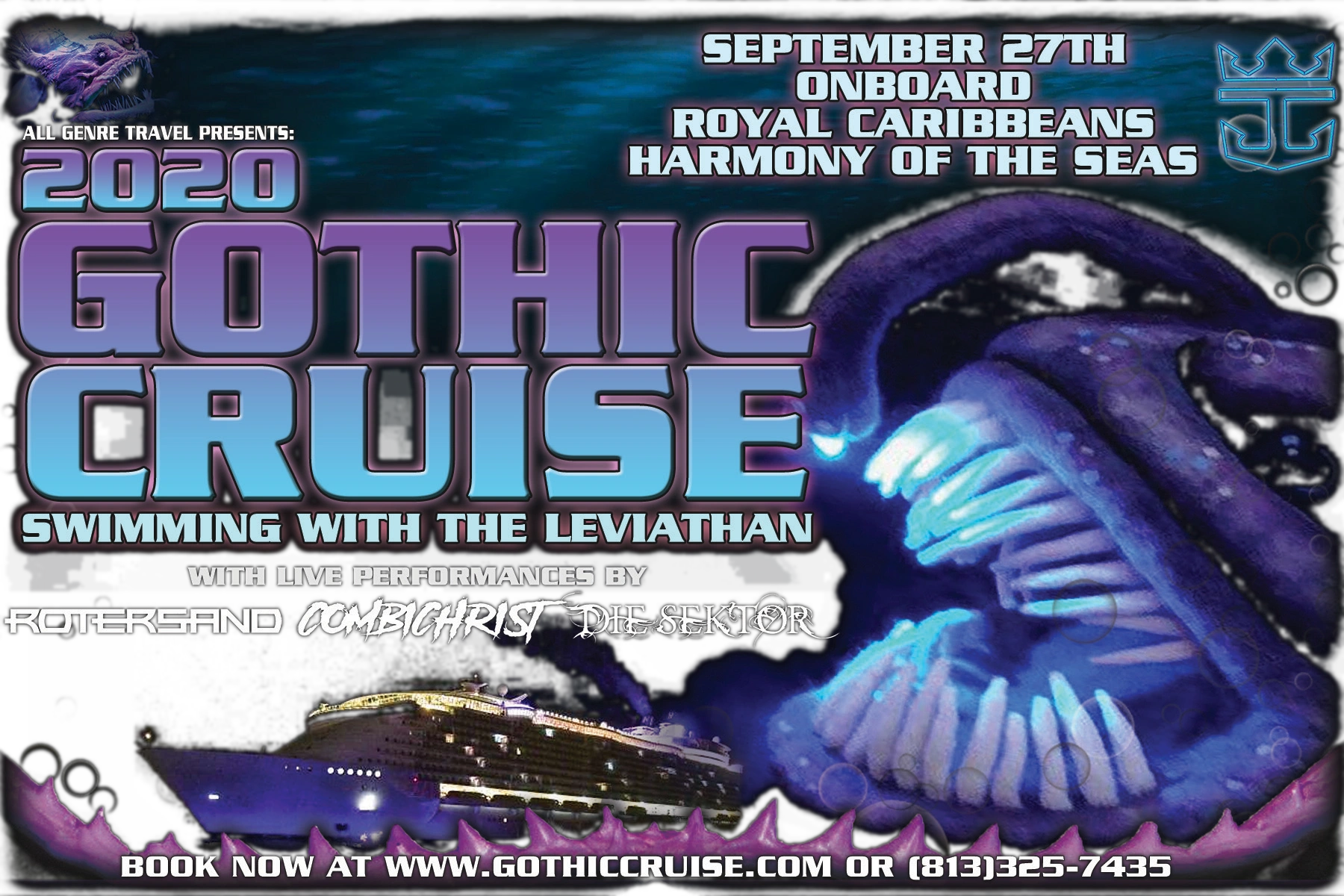The 2020 Gothic Cruise Swimming with the Leviathan