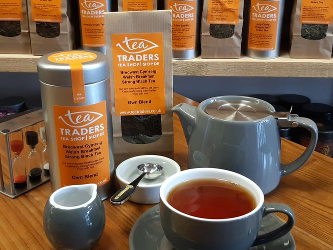 Tea Traders Loose leaf Tea English Breakfast tea Welsh Breakfast Brecwast Cymreig Buy Tea online