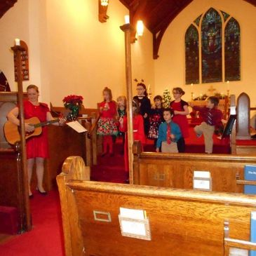 Sunday School at St. Mark's Episcopal Church, Newark NY