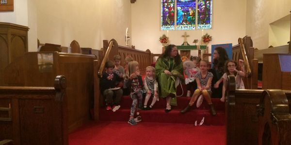 Sunday School at St. Mark's
