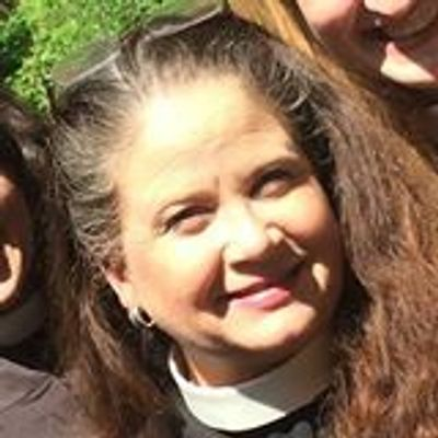 The Rev. Gretchen Ratterree, priest in charge of St. Mark's Episcopal Church, Newark NY