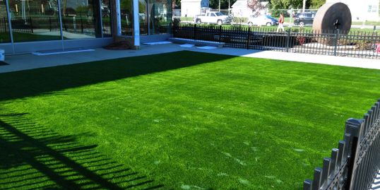 Green Site sells artificial turf