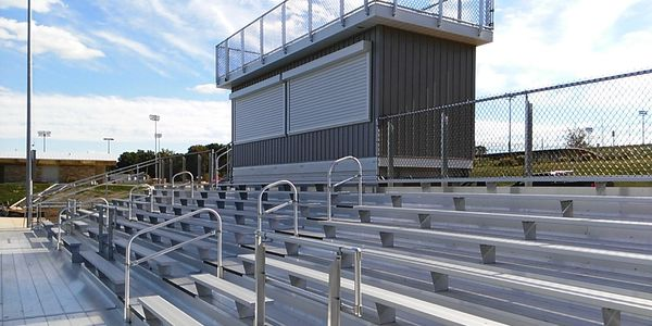 maryland bleachers sells press boxes