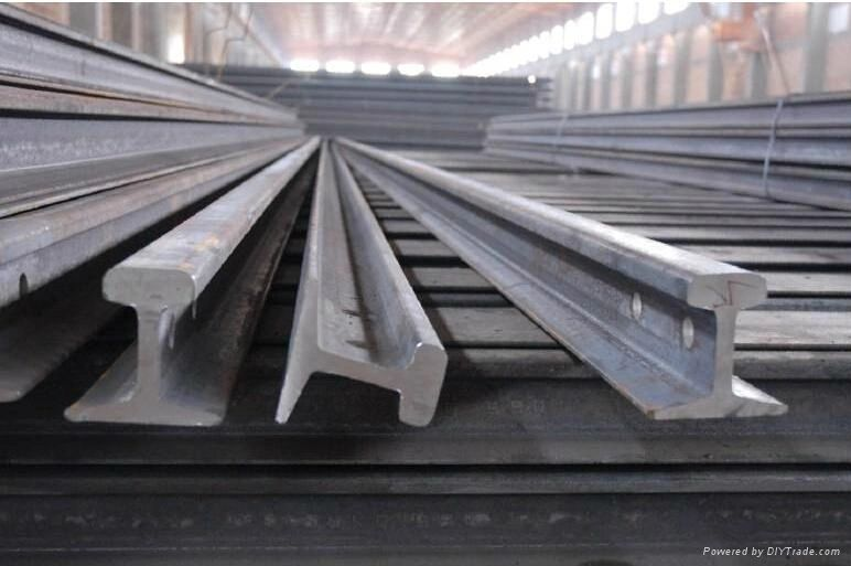 baghlaf steel for rail distribution trusted by its customers, rails