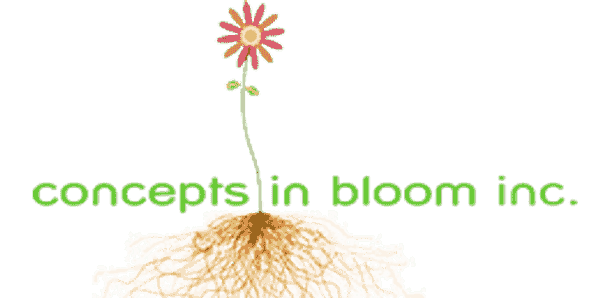 Concepts In Bloom's business Logo
