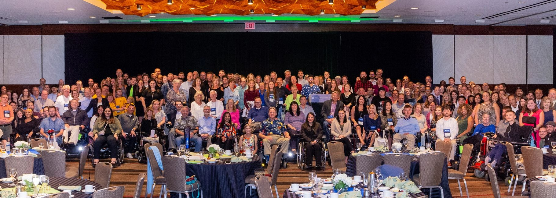 Over 400 attendees were present for the first National Limb Girdle Muscular Dystrophy Conference!