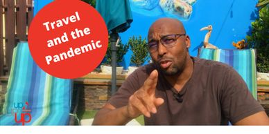 A youtube video, #travel #pandemic #