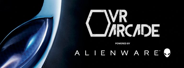 The VR Arcade powered by Alienware