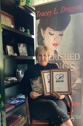 Cherished Wings by Tracey L. Dragon has been recognized by NERFA and Holt Medallion