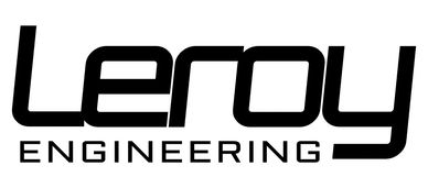 Leroy Engineering Track Day trailer company logo.