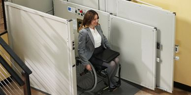 Wheelchairs Surrey. Lancaster Mobility offers a great selection of Platform Lifts for your needs.