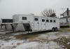 2000 Exiss 3 Horse with Living Quarters, new tires & brakes, auto jack, needs plumbing finished.  Consigned Asking $12,000  Call 937-678-4981