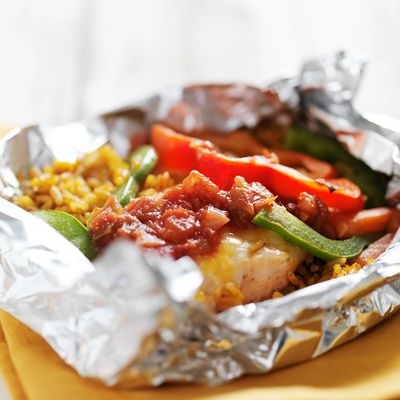 Foil packet meals are a great way to enjoy smokey flavor and easy clean up.