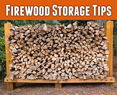 Firewood that is stored improperly can become a home to insects, rodents, snakes, mold and fungus!