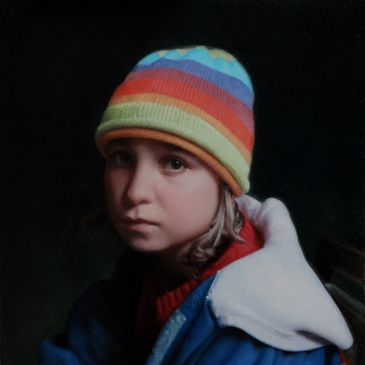 PORTRAIT, OIL PAINTING, MARK BALMA, LEONARDO DA VINCI, CLASSICAL PAINTING, REALISM,