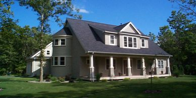 Finely crafted home by builder/contractor  Jared West, Signature Homes.