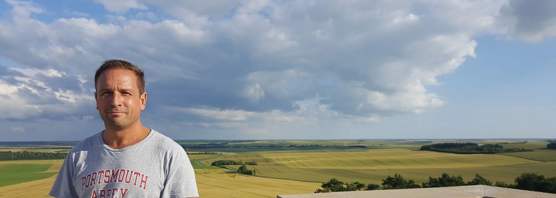 Geoffrey Wawro visits the Blanc Mont near Reims in Champagne to view the 1918 battlefield.