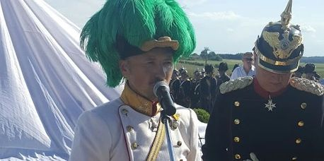Geoffrey Wawro observes Benedek and Moltke at Austro-Prussian War reenactment.