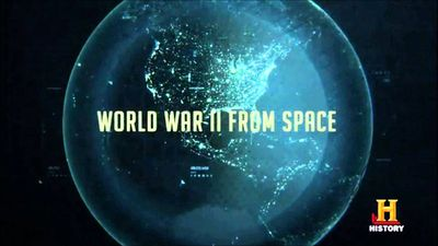 Geoffrey Wawro in the History Channel's epic World War II from Space.